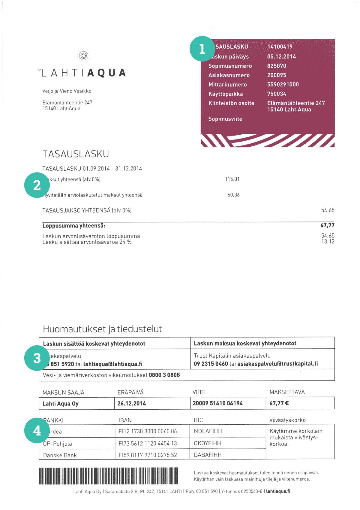 Mallilasku sivu 1
